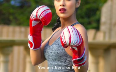 Fighter- Dr Bhasha Mukherjee, Miss England!