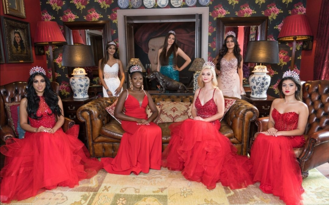 Miss England Contestants crowned Queens