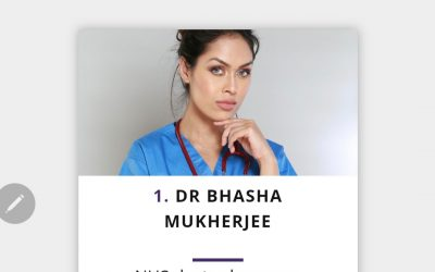 IDW 2021- Bhasha is ranked No.1 out of top 100 women of UK